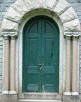 Stephens Memorial Door Before.jpg
